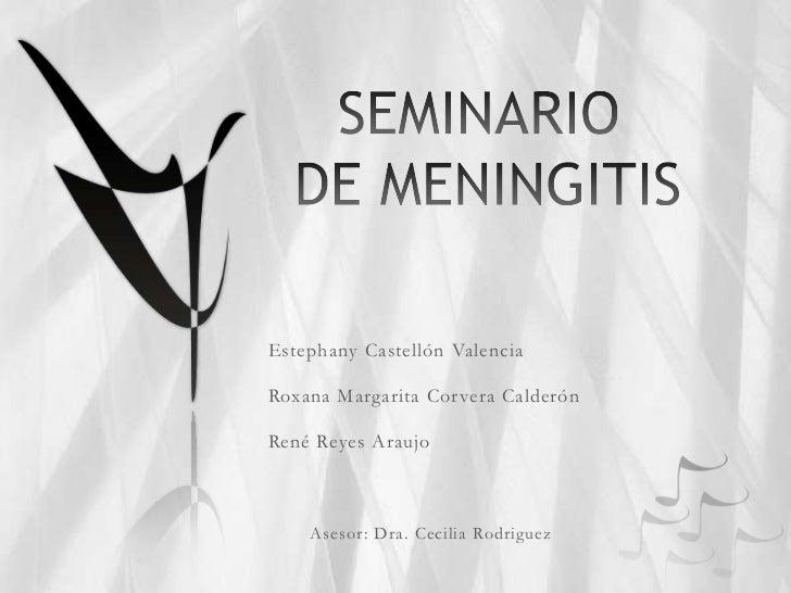 Ppt seminario de meningitis