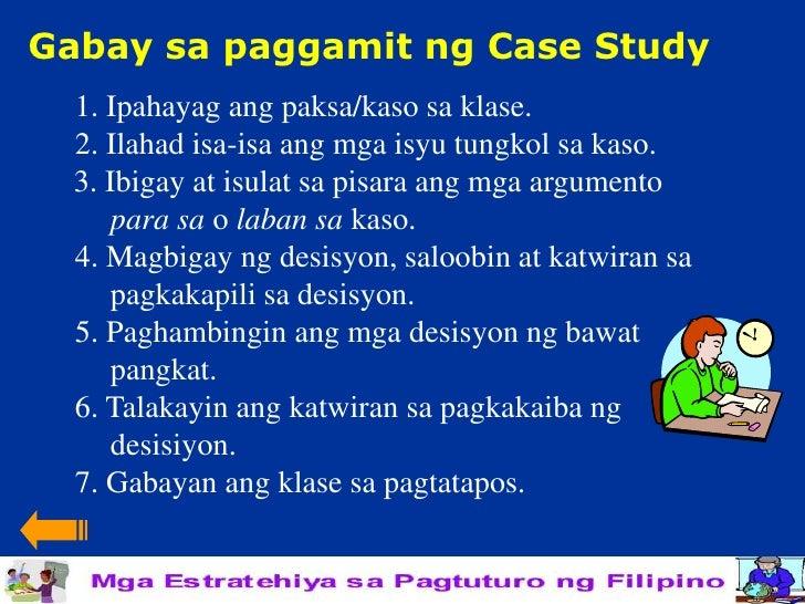 Halimbawa ng case study