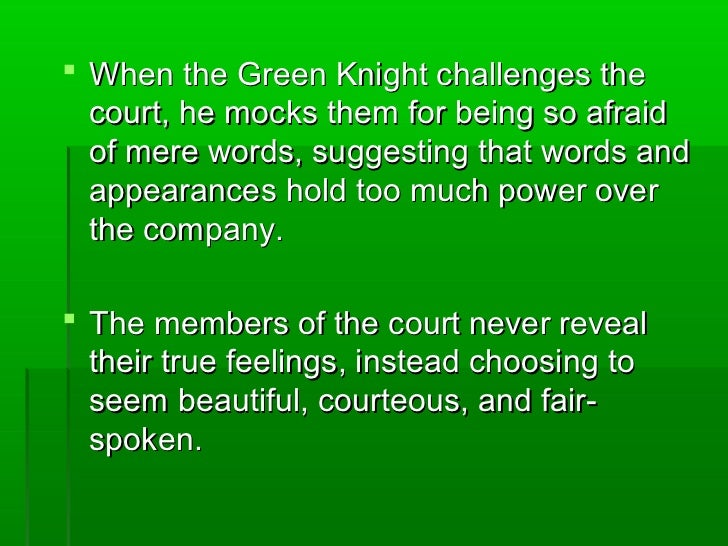 Religion in Sir Gawain and the Green Knight - Borcuch