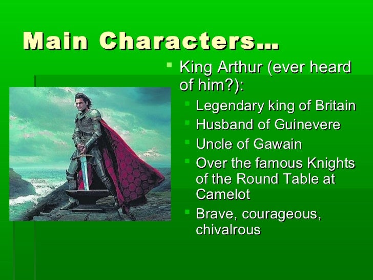 comparing the character of sir gawain and that of beowulf Comparison-contrast essay: beowulf & grendel  character beowulf and grendel share many of the same characters, specifically the main characters beowulf and.