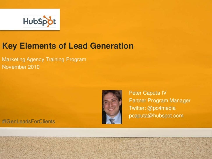Key Elements for Lead Generation