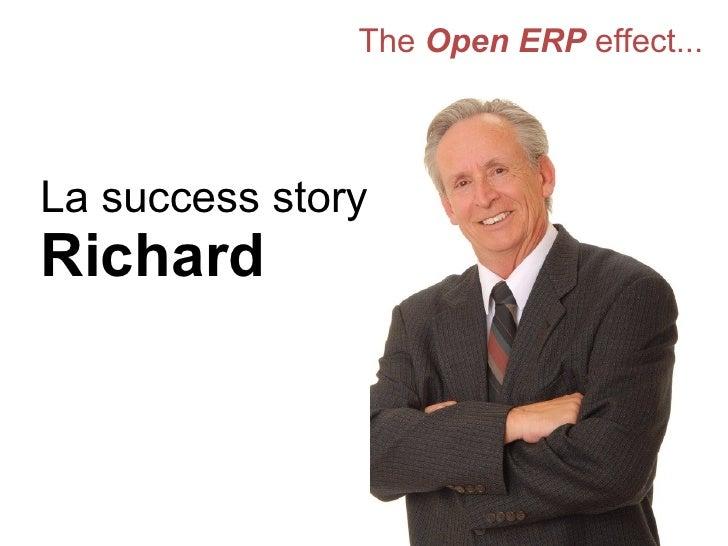 The  Open ERP  effect... La success story de Richard