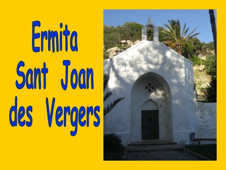 Ermita  Sant  Joan  des  Vergers