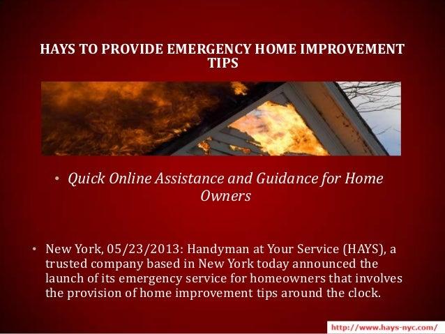 Online handyman