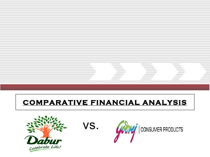 Finacial comparison Godrej & Dabur