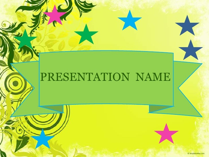 PPT Templates for Presentation