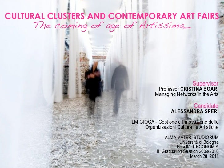 Cultural clusters and contemporary art fairs