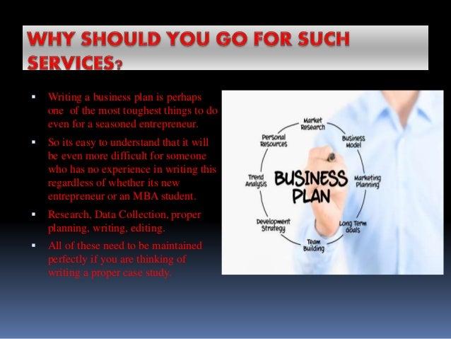 Getting help writing business plan