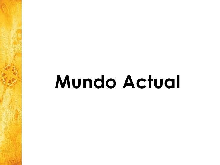 Mundo Actual