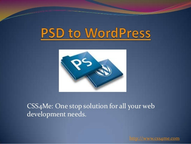 CSS4Me: One stop solution for all your webdevelopment needs.http://www.css4me.com