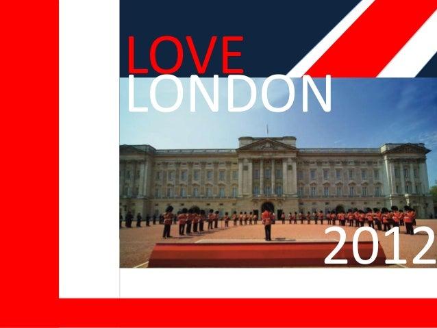 LOVE ENGLAND 2012