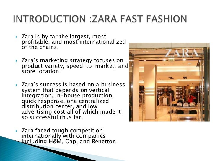 Zara Pacific Fair