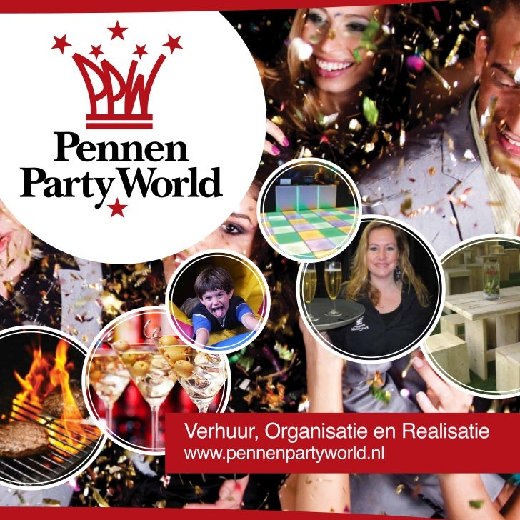 Pennen Party World - Brochure 2012