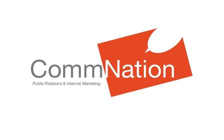 CommNationPublic Relations & Internet Marketing