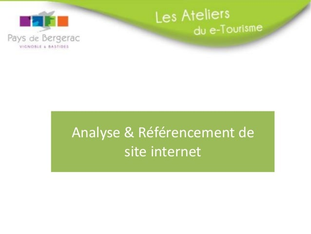 Analyse & Référencement de site internet
