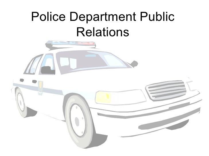 Police Department Public Relations