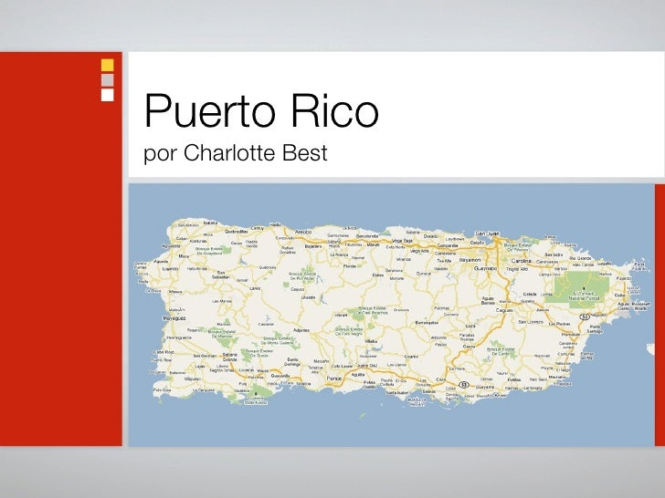 Puerto Rico por Charlotte Best