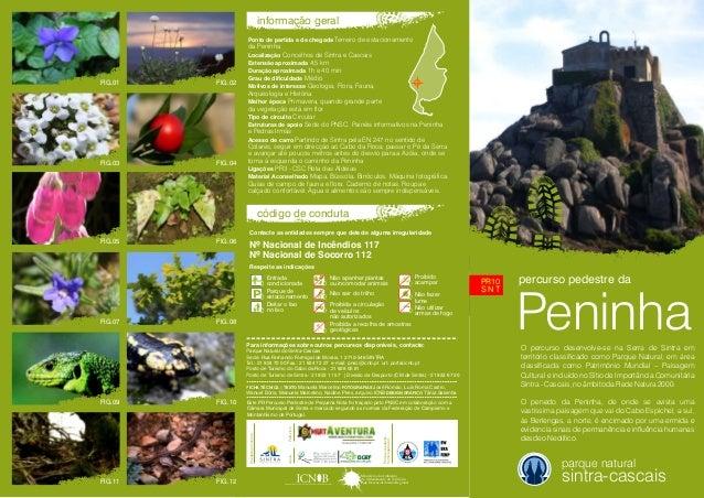 percurso pedestre daO percurso desenvolve-se na Serra de Sintra emterritório classificado como Parque Natural, em áreaclas...