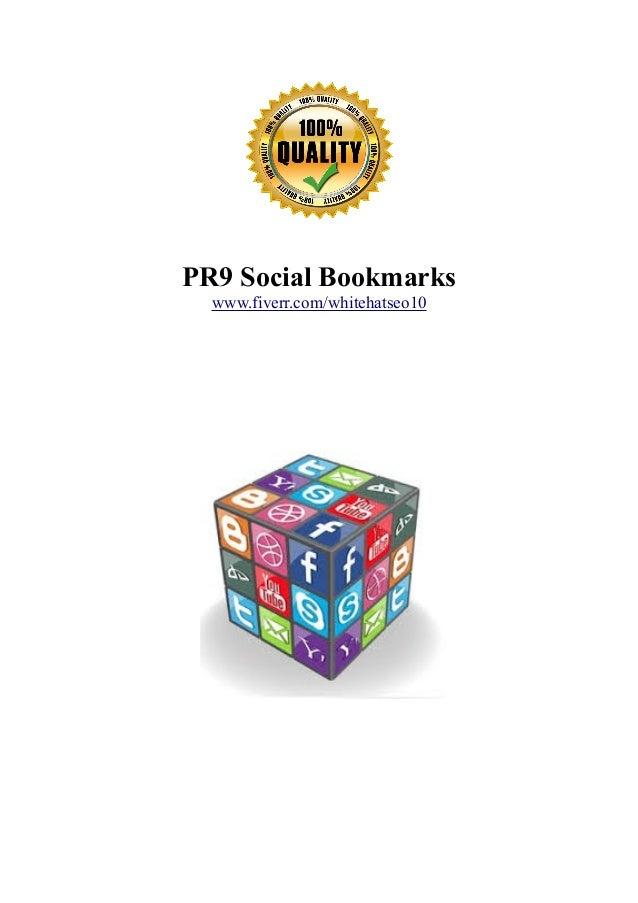 PR9 Social Bookmarks www.fiverr.com/whitehatseo10