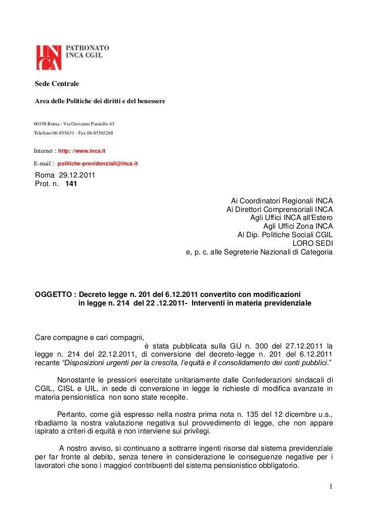 Sede CentraleArea delle Politiche dei diritti e del benessere00198 Roma - Via Giovanni Paisiello 43Telefono 06-855631 - Fa...