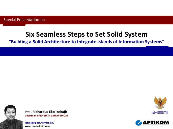 Six Seamless Steps for IS Integration