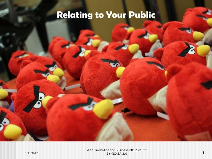A Short Intro to Public Relations
