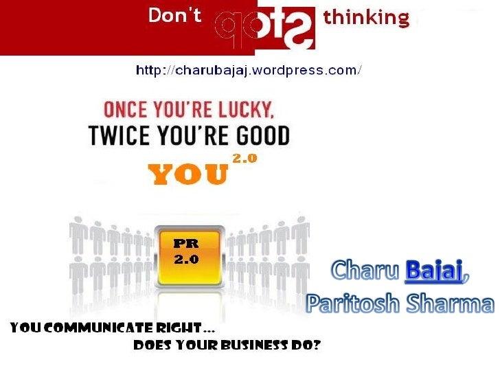 PR2.0, Corporate branding through accurate messaging-ms972003