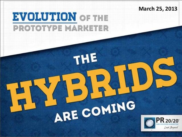 Hybrid Young Professionals — PRSA Presentation