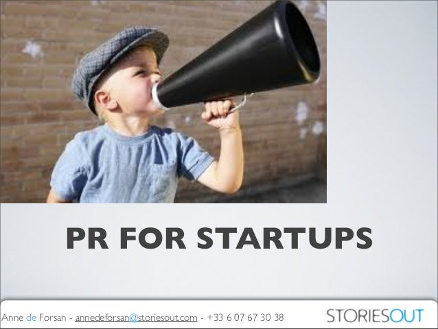 PR for Startups: when, what, how?