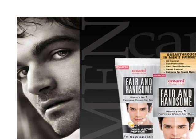 Fair and Handsome is a pioneer brand from the house of Emami. In 2005, the company forayed into the men's fairness categor...