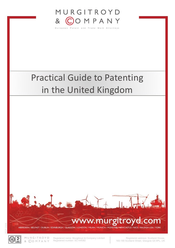 Eu r op ea n   P at e nt   a nd   Trad e   Ma rk   At t o r n e ys                           Practical Guide to Patenting ...