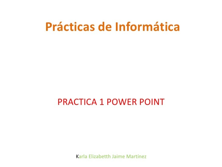 Practica powerpoint-elizabetth