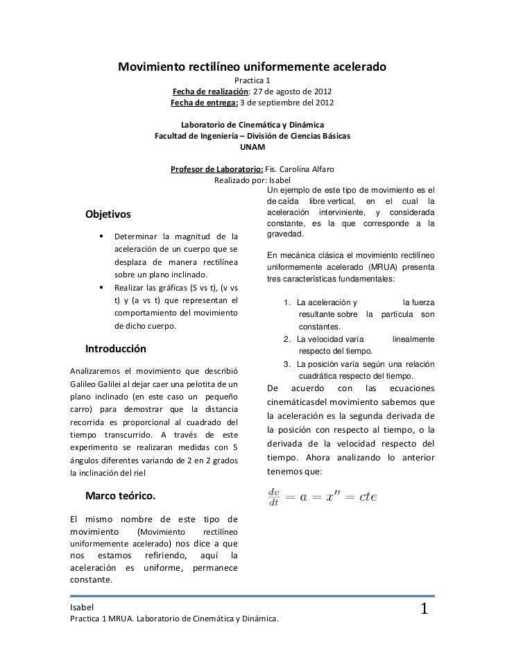 Practica1 Cinemática y Dinámica