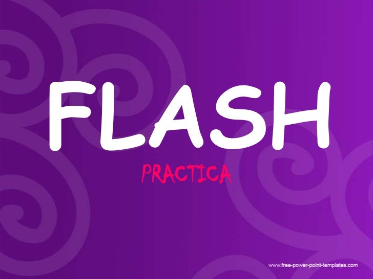 Practica 1º de macromedia flash