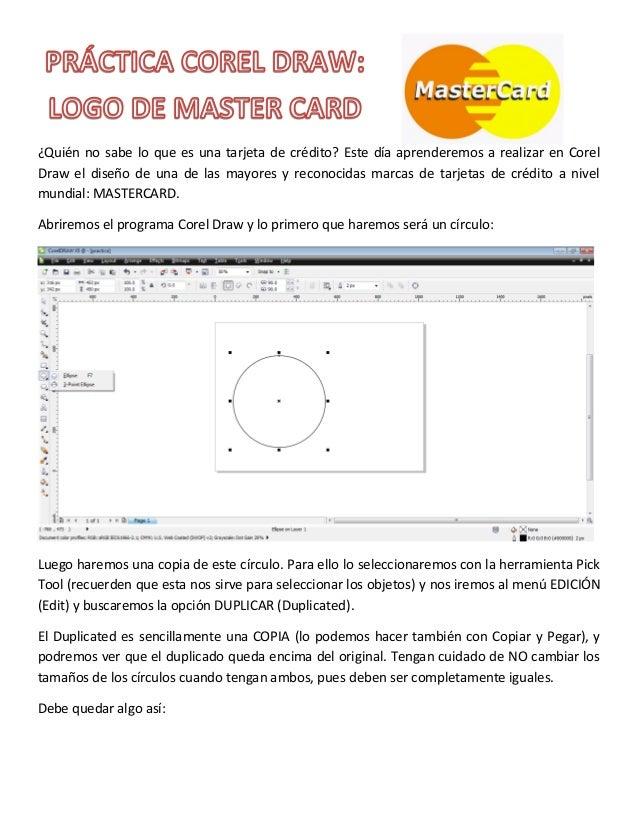 ¿Quién no sabe lo que es una tarjeta de crédito? Este día aprenderemos a realizar en CorelDraw el diseño de una de las may...