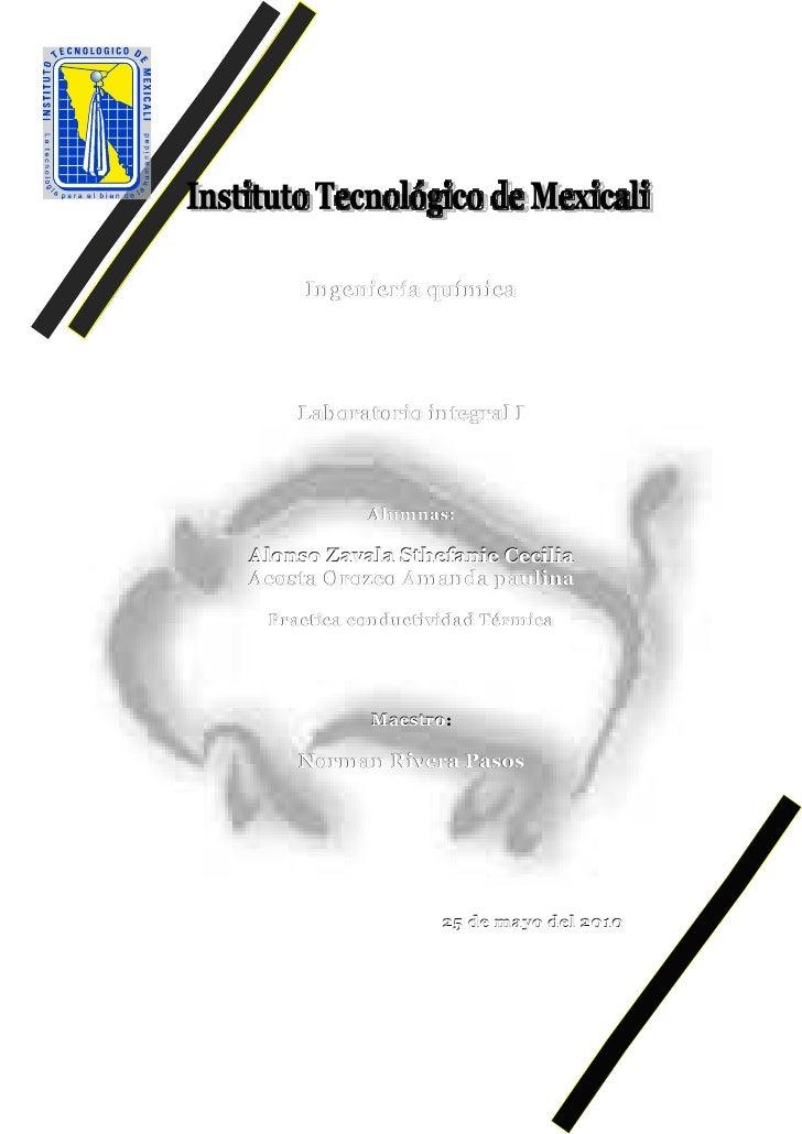 Practica conductividad termica[1]
