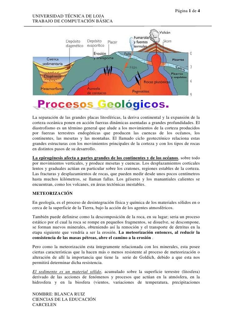 La separación de las grandes placas litosféricas, la deriva continental y la expansión de la corteza oceánica ponen en acc...