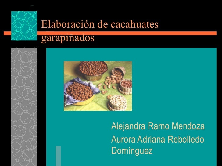 Practica elaboracion de cacahuate garapiñados