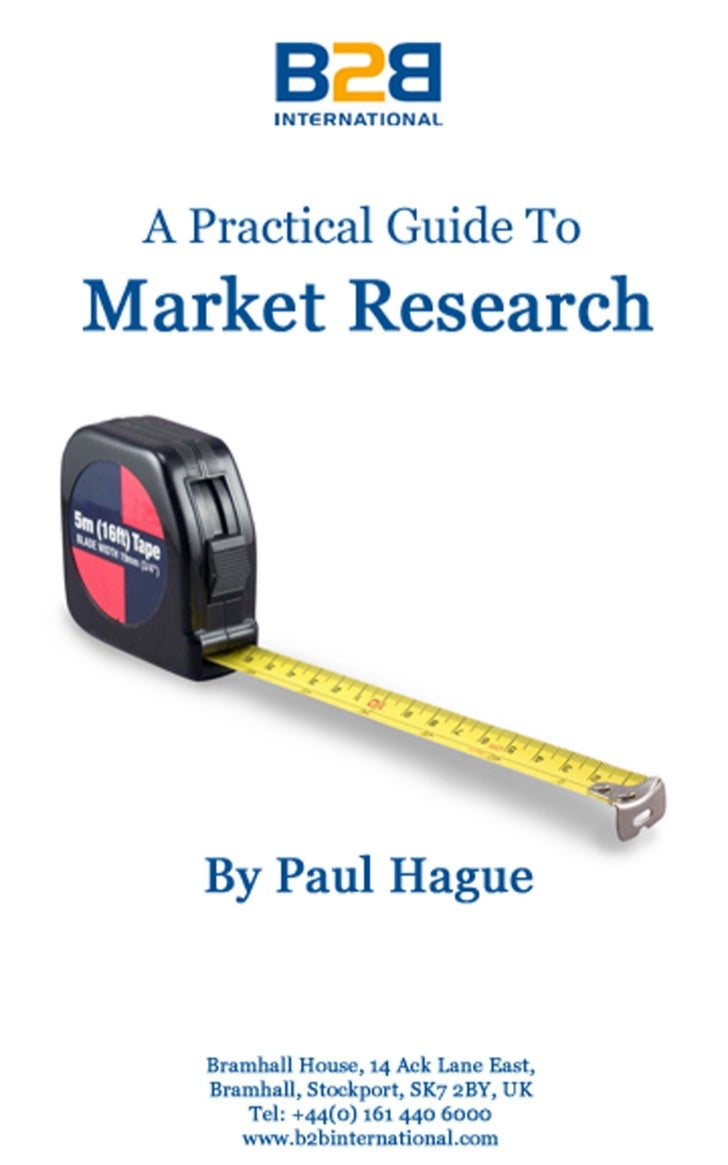 Practical guide-to-market-research