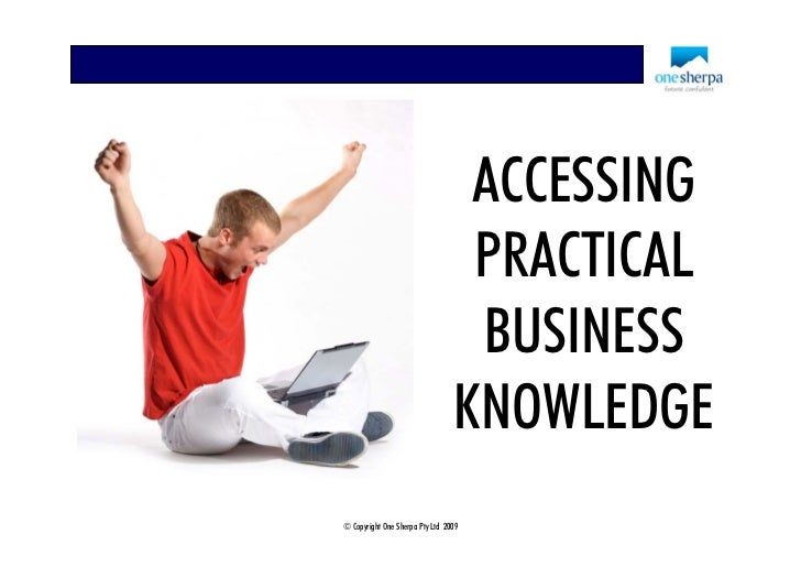 ACCESSING                                   PRACTICAL                                   BUSINESS                          ...