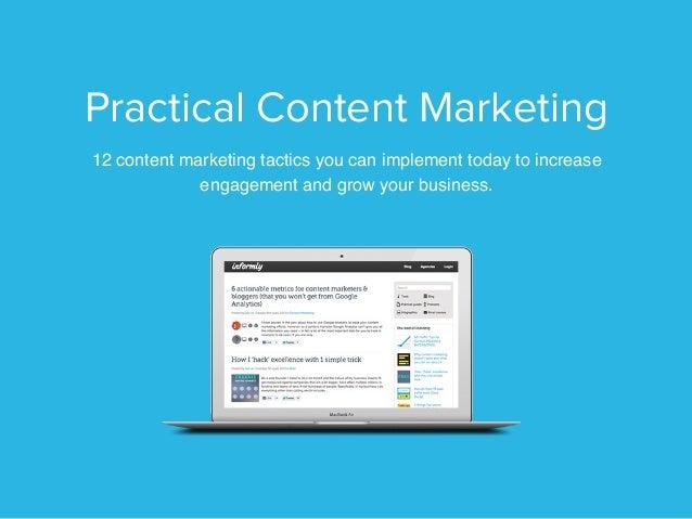 Practical content marketing