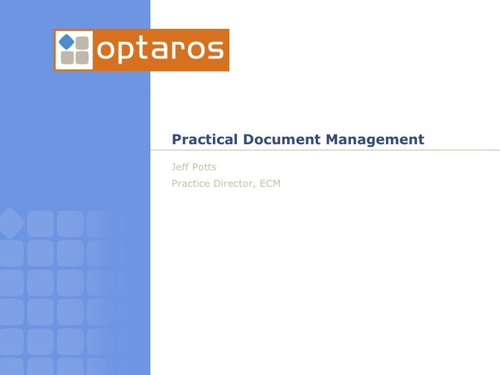 A Practical Guide to Capturing, Organizing, and Securing Your Documents