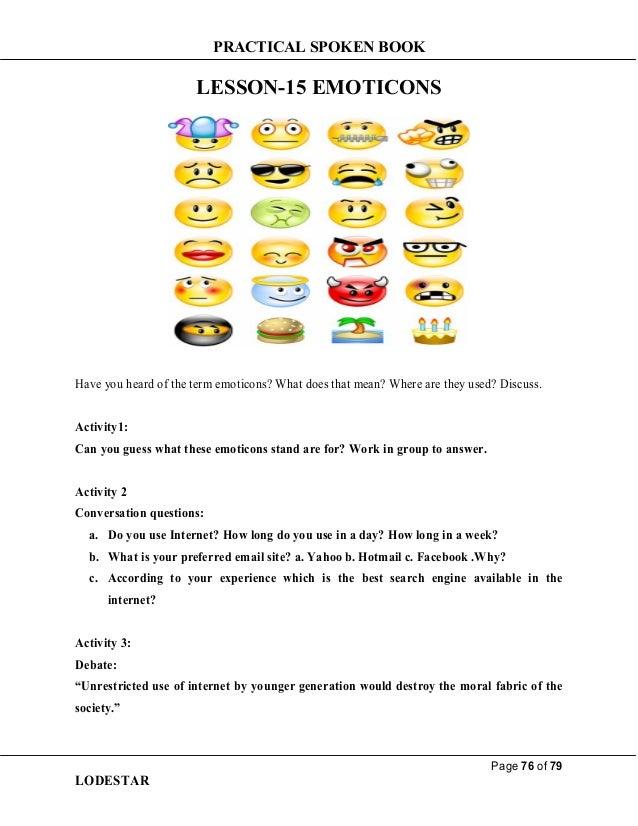 Practical lesson  15