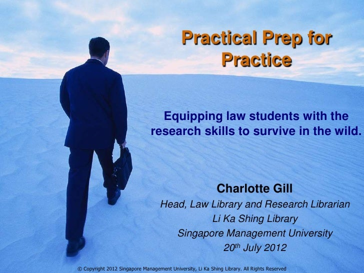 Practical Prep for                                                Practice                                 Equipping law s...
