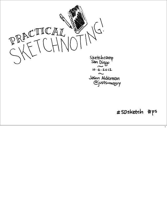 Practical Sketchnoting