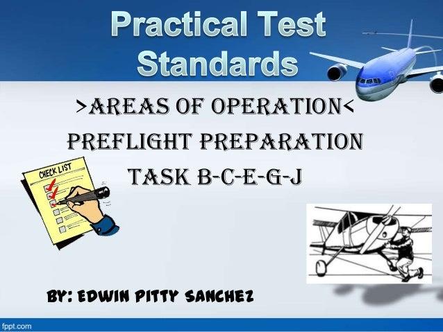 Practical Test Standards - Simple Version for PPL