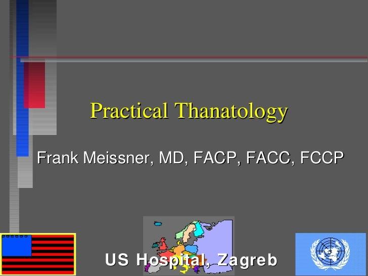 Practical thanatology