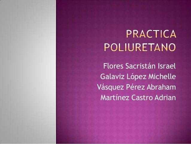 Flores Sacristán Israel Galaviz López Michelle Vásquez Pérez Abraham Martínez Castro Adrian