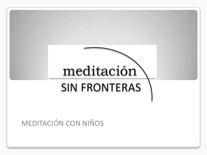 MEDITACIÓN CON NIÑOS                       1