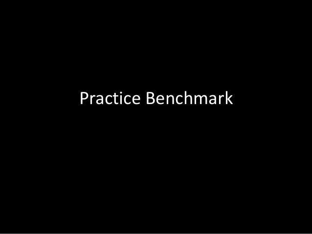 Practice Benchmark